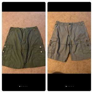 2 pairs express MENS shorts